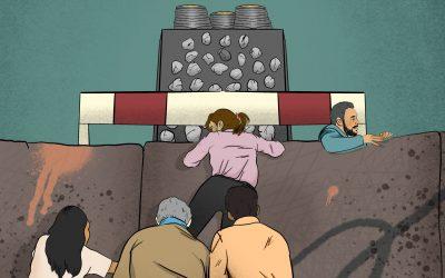 Una carrera de obstáculos en un negocio concentrado